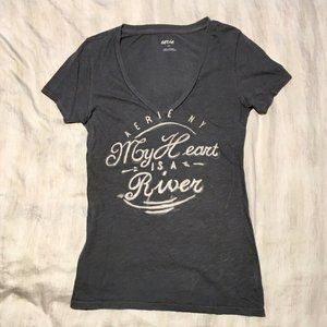 Aerie Small Graphic Tee